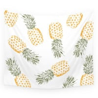 Society6 Pineapple Wall Tapestry