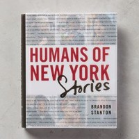 Humans Of New York: Stories by Anthropologie in Red Size: One Size Books