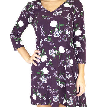 Jack By BB Dakota Lelina Floral Shift Dress