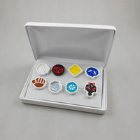 Pokemon Gym Badge Set - Johto Region