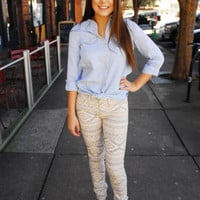 Cherokee Princess Jeans - Cheeky Peach - A style and service boutique in Downtown Athens, Georgia