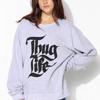 United Couture Thug Life Pullover Sweatshirt - Urban Outfitters