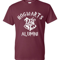 Hogwarts Alumni Wizard Lovers T Shirt Hogwarts Alumni Shirt Mens & Ladies Available