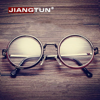 Women Men Big Round Glasses Frames Newest Purely Handmade Vintage Optical Eye Frame Plain Glass Fashion