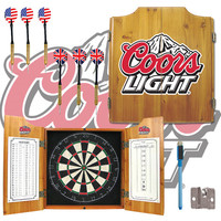 Coors Light Dart Board Cabinet (FREE SHIPPING) | WearYourBeer.com