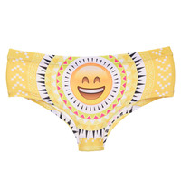 Hot Sale Women Panties Intimates Briefs Interior Mujer Sexy Cute Fashion Character Emoji Lingerie Panty String Bragas Femme Girl