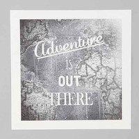 Zach Terrell Adventure Is Out There Art Print- Multi One