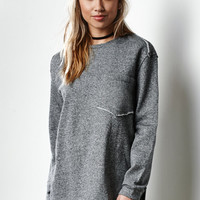 THE FIFTH Song Street Oversized Crew Neck Sweatshirt at PacSun.com