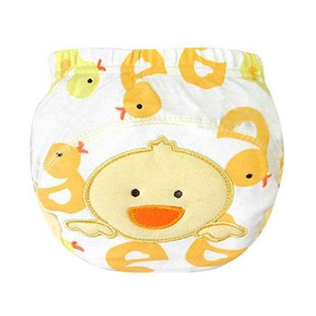 Newborn Baby Panties Cloth Diaper Training Pants Diaper Cover Baby Labs Pants Nappies Hot