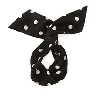 FOREVER 21 Polka Dot Wire Hair Tie