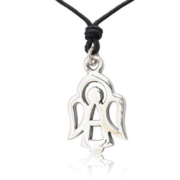 Vietguild Symbol Angel 92.5 Sterling Silver Pewter Charm Necklace Pendent Jewelry