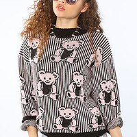 *Vintage Boutique The Teddy Sweater : Karmaloop.com - Global Concrete Culture