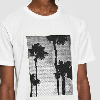 NEED / Palm Printed T-Shirt