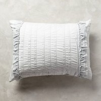 Tiered Ruffle Shams by Anthropologie