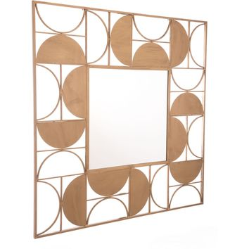 Gold Decade Wall Mirror