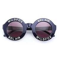Wildfox - Bel Air Navy Blue Sunglasses