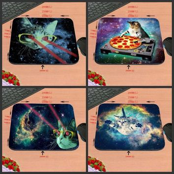 New High quality Funny Lovely Space Cats MousePads Computer Gaming Mouse Pad Gamer Play Mats Professional Rubber  Mouse Mice mat