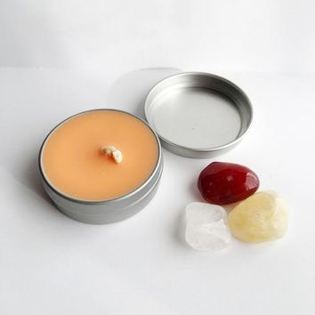 Joy ~ Soy Intention Candle, Essential Oil Candle,