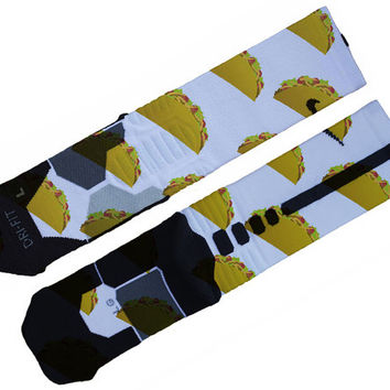 Taco Custom Nike Elite Socks
