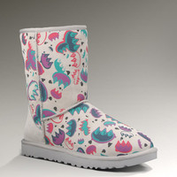 Womens Classic Short Graffiti by UGG Australia