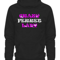 crazy ferret lady black crzyferretladyblack