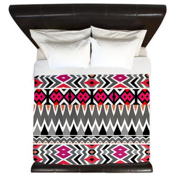 Aztec King Duvet Cover - Mix #570 - Ornaart Design