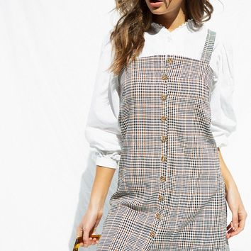 Lucy Plaid Dress - Dresses by Sabo Skirt