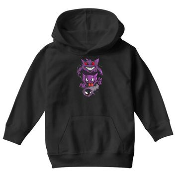 pokemon the ghost Youth Hoodie