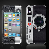 Vintage Camera 2  iPod Touch 4 4th Gen Vinyl Decal by ItsASkin