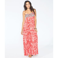 Billabong Women's Dreamed Of You Maxi Dress