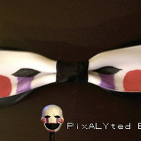 Puppet Hair Bow - Inspired by Five Nights at Freddy's