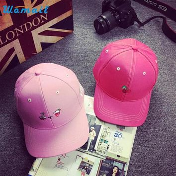 Mar 11 Elegant Nobility Summer Solid Color Cotton Baseball Cap Boys Girls Snapback Hip Hop Hat