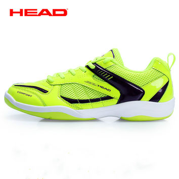 100% genuine head badminton shoes rubber anti slipper men and women sport sneaker Zapatillas Deportivas Hombre
