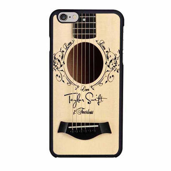 taylor swift accoustic guitar iphone 6 6s 4 4s 5 5s 6 plus cases