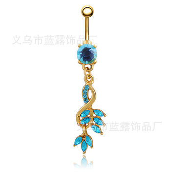 Alloy Accessory Punk Belly Ring [6768789575]
