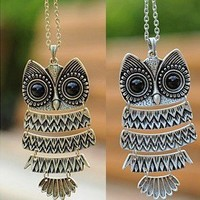 FASHION OWL NECKLACE
