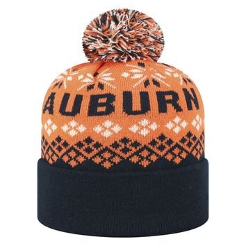 Licensed Cuffed Knit Advisory Stretch Sock Hat Cap Pom Beanie KO_19_1