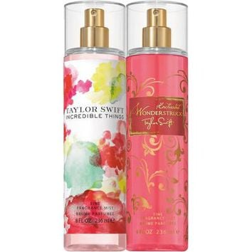 Taylor Swift Incredible Things/Enchanted Wonderstruck Fine Fragrance Mist, 8 fl oz, 2 count - Walmart.com
