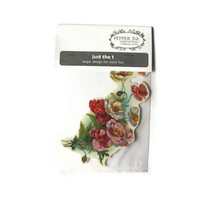 vintage poppies temporary tattoo