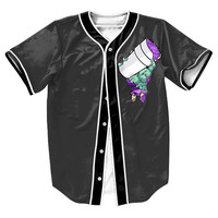 """Lean To Die"" 3D Baseball Jersey"