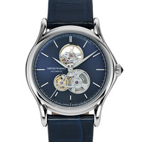 Emporio Armani Swiss Men's Classic Automatic Blue Alligator Leather Strap Watch 42mm - Men's Watches - Jewelry & Watches - Macy's