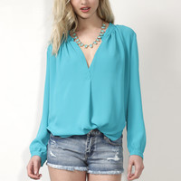 Decker Coral Reef Blouse