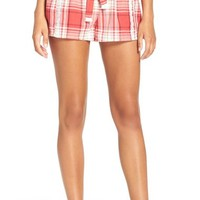 Lucky Brand Embroidered Cotton Pajama Shorts | Nordstrom