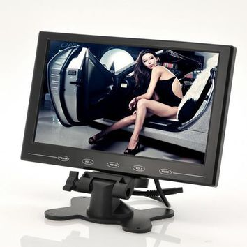 9 Inch TFT LCD Monitor For In-Car Headrest