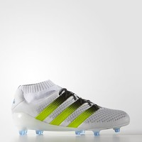 adidas ACE 16.1 Primeknit Firm Ground Cleats - White | adidas US