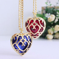 ZELDA HEART PENDANT NECKLACE