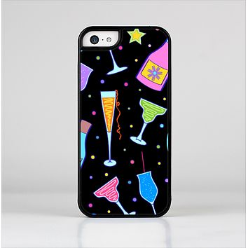The Neon Party Drinks Skin-Sert for the Apple iPhone 5c Skin-Sert Case