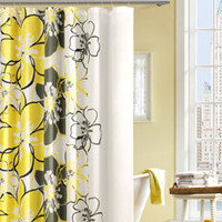 Allison Fabric Shower Curtain