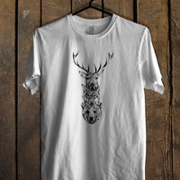 Elk Wolf Bear Totem T Shirt Mens T Shirt and Womens T Shirt *