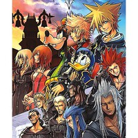 Group Photo Poster - Kingdom Hearts - Spencer's